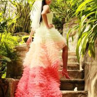 свадебное платье на бали