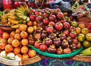 балийские фрукты, еда на Бали, экзотические фрукты