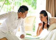 свадебная церемония на Бали, свадьба орхидей