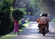 Мопед - самое быстрое средство для путешествия по Бали