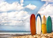 доска для серфинга на Бали